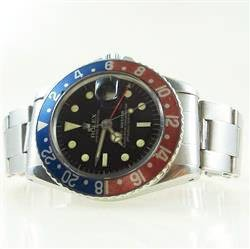 Rolex GMT-Master 1675 NO UNDERLINE