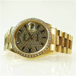 Rolex Day-Date 18248 DIAMANTEN